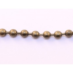 ballchain 4mm messing